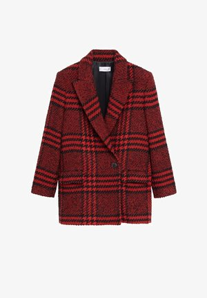 ANNA - Short coat - rojo