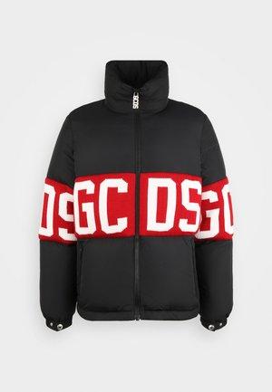 BAND LOGO PUFFERCOAT UNISEX - Down jacket - black