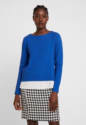 T-SHIRT LANGARM - Long sleeved top - blue
