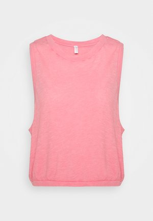 WASHED LOVE TANK ACID - Débardeur - mottled pink