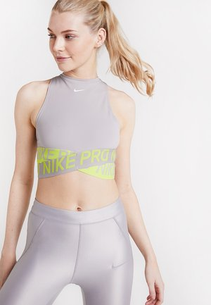 INTERTWIST CROP TANK - Toppe - atmosphere grey/cyber/white
