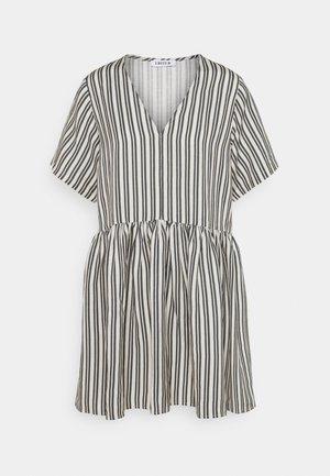 MABEL DRESS - Sukienka letnia - beige/black