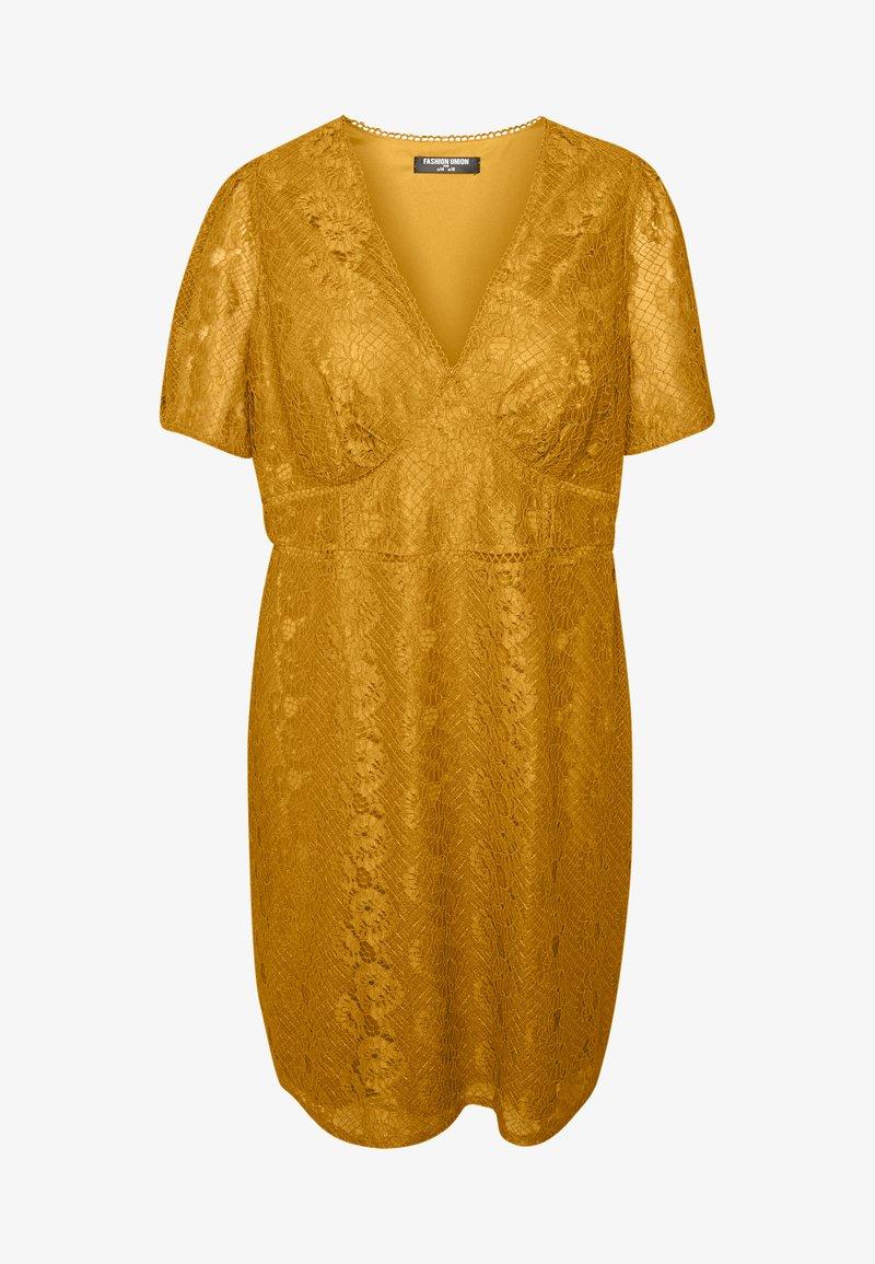 luca dress - cocktailkleid/festliches kleid - yellow
