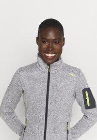 CMP - WOMAN JACKET - Fleece jacket - grey/bianco - 3