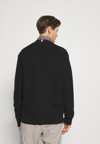 Tommy Hilfiger Tailored - RACKED  - Cardigan - black - 2
