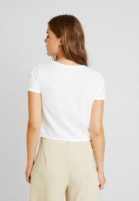 Hollister Co. - BOTANICAL TEE - T-shirts print - white - 2