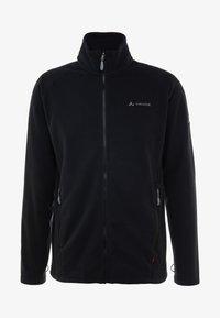 Vaude - MENS ROSEMOOR JACKET - Fleecová bunda - black - 6