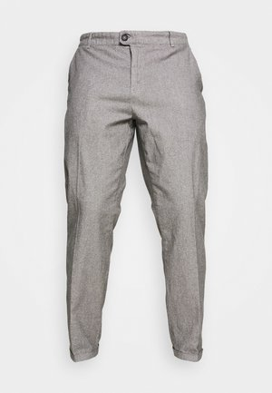 USESRA CROPPED PANTS - Trousers - light grey