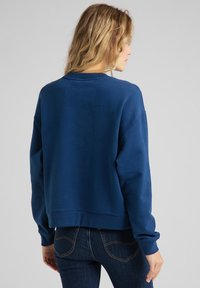 Lee - CREW - Sweatshirt - washed blue - 2