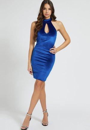 CUT OUTS - Shift dress - blau
