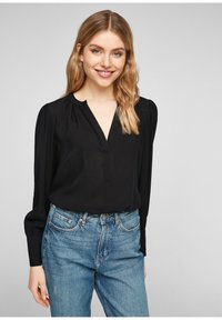 QS by s.Oliver - Blouse - black - 0
