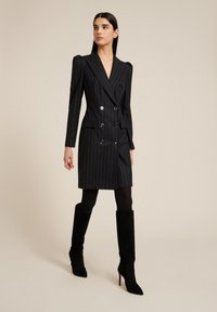 Luisa Spagnoli - GIORDY - Shift dress - var nero/lilla - 1