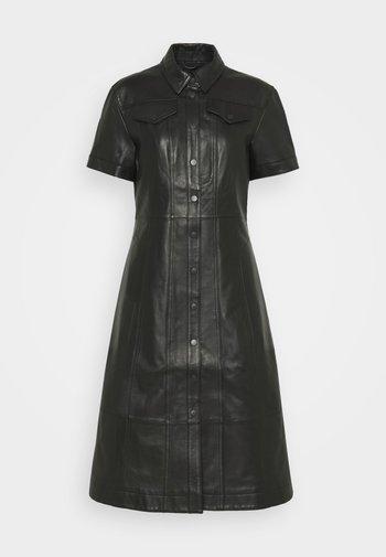 DRESS - Košilové šaty - black