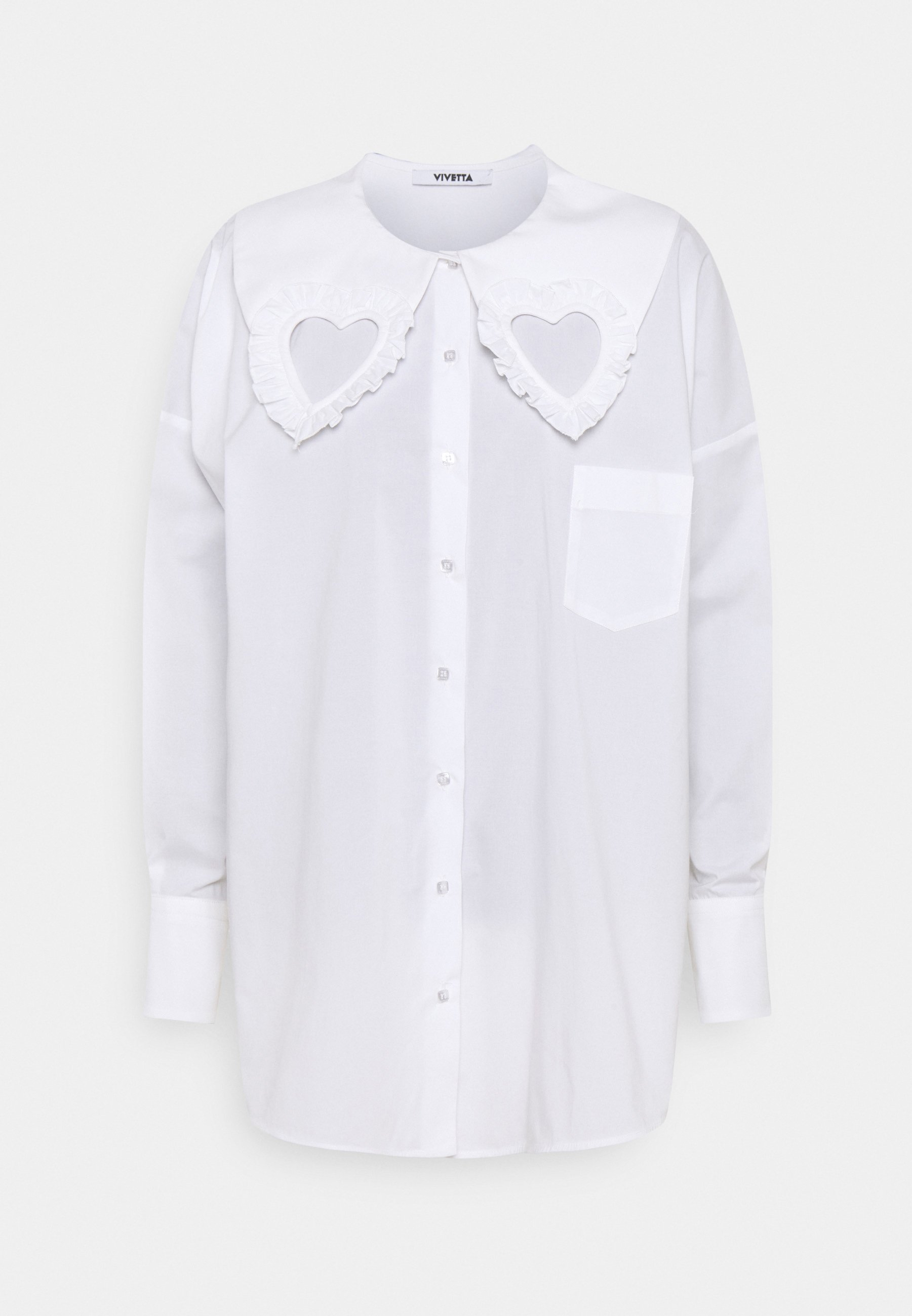 Women HEART BLOUSE - Button-down blouse