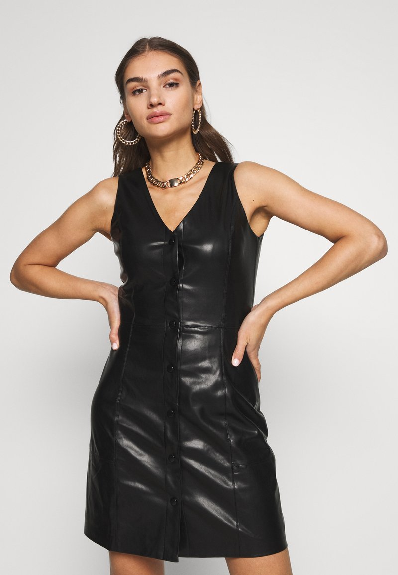 EDITED - IVER DRESS - Shift dress - schwarz