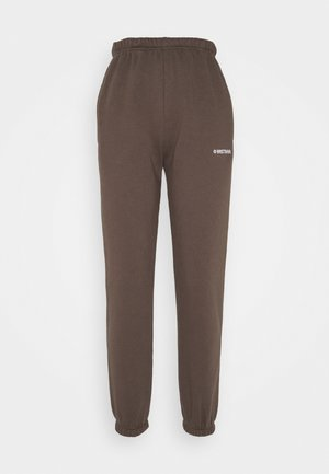 FAITH PANTS - Tracksuit bottoms - dark brown