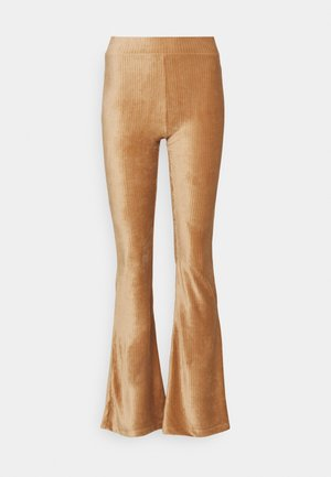 ONLLOTTA FLARED PANT  - Pantaloni - adobe rose