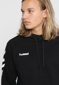 Hummel - GO HOODIE - Luvtröja - black - 4