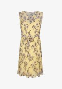 Alba Moda - Day dress - gelb,flieder - 4