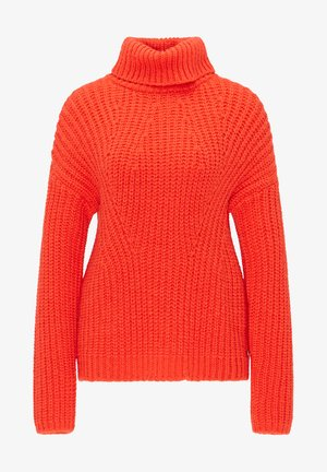 Jumper - red coral