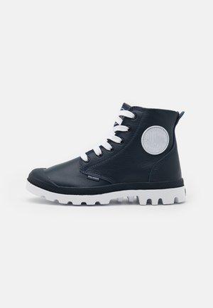 UNISEX - Ankle boots - indigo/white