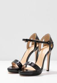 Tata Italia - Korolliset sandaalit - black - 4
