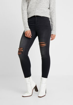 KNEE RIP - Jeans Skinny Fit - black