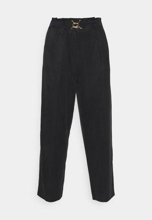 SCAFATI - Spodnie materiałowe - nero