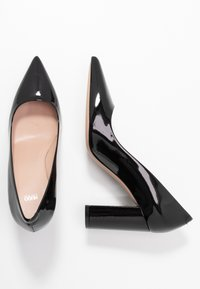 HUGO - EXCLUSIVE INES CHUNKY  - High heels - black - 3