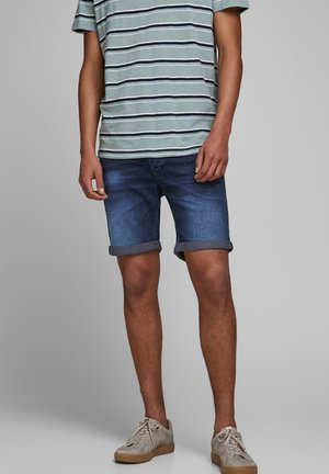 JEANSSHORTS RICK ICON GE 011 - Denim shorts - blue denim