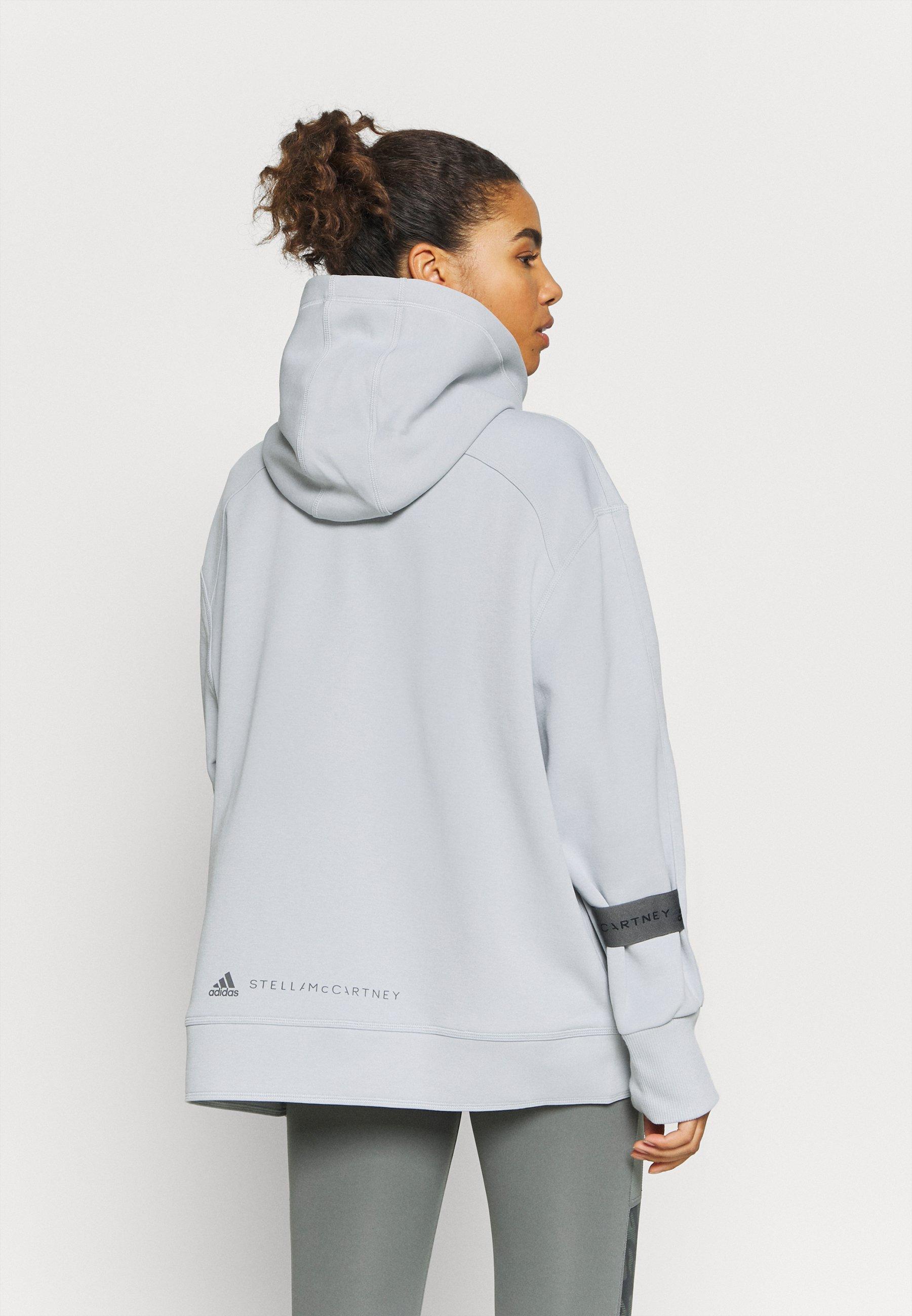 adidas by Stella McCartney PULL ON - Hoodie - light grey iEqln