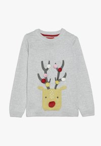 mothercare - FLOW FEST UNICORN JUMPER - Jumper - grey - 0