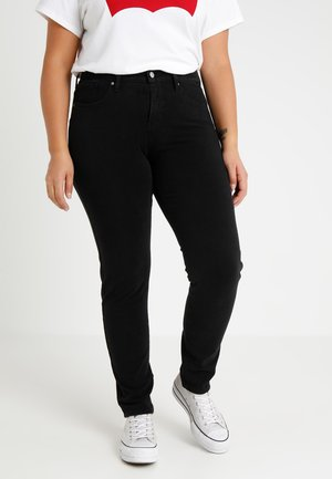 311 PL SHAPING SKINNY - Jeansy Skinny Fit - new ultra black night