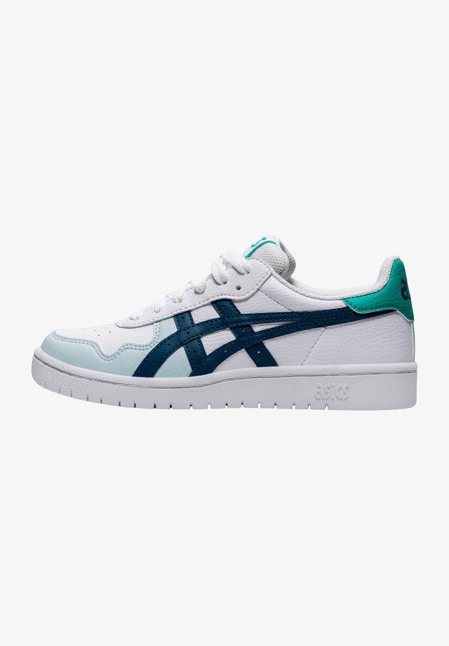 Sneakers laag - white/mako blue