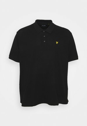 PLUS PLAIN  - Polo shirt - jet black