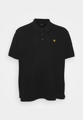 PLUS PLAIN  - Polo shirt - jet black