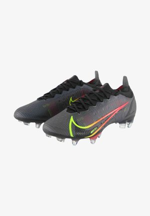 Moulded stud football boots - schwarz