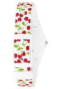 Swatch - CERISE MOI - Hodinky - white/red - 2