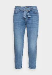 ONLTONNI LIFE BOYFRIEND - Straight leg jeans - medium blue denim