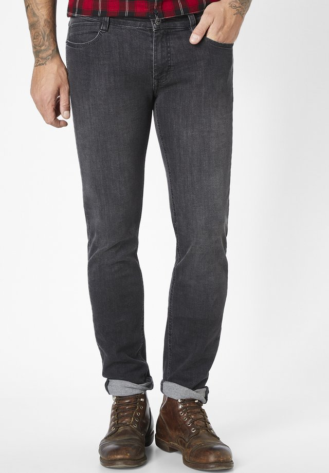 DEAN - Slim fit jeans - dark grey