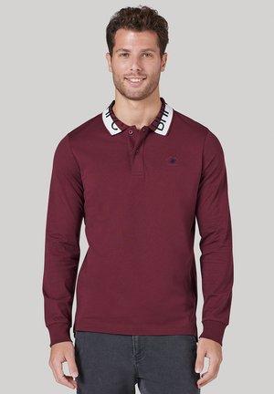 Polo shirt - bordo
