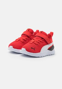 Puma - ANZARUN LITE UNISEX - Neutral running shoes - poppy red/white - 1
