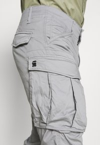G-Star - ROVIC ZIP TAPERED - Cargobroek - steel grey - 4