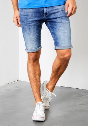 Denim shorts - spring indigo