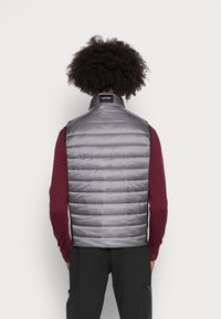 Calvin Klein - ESSENTIAL SIDE LOGO VEST - Vesta - medium charcoal - 2