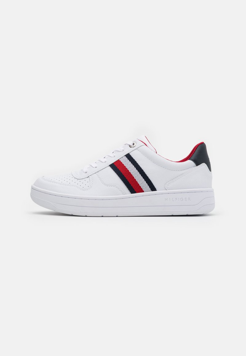 Tommy Hilfiger - BASKET CUPSOLE  - Zapatillas - white