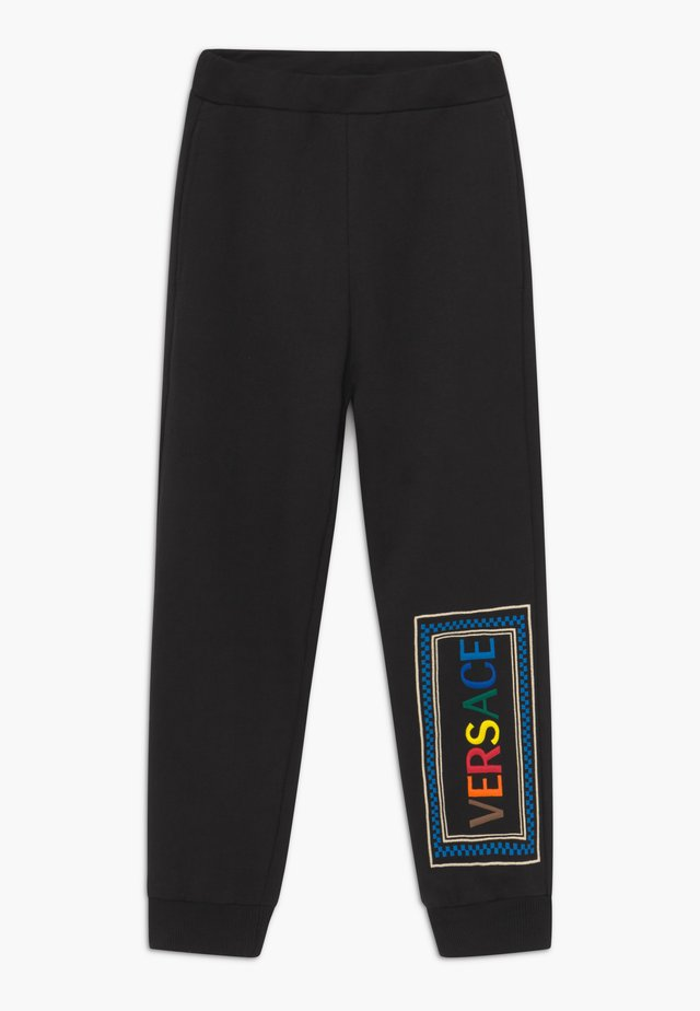 BOTTOM FELPA - Spodnie treningowe - nero