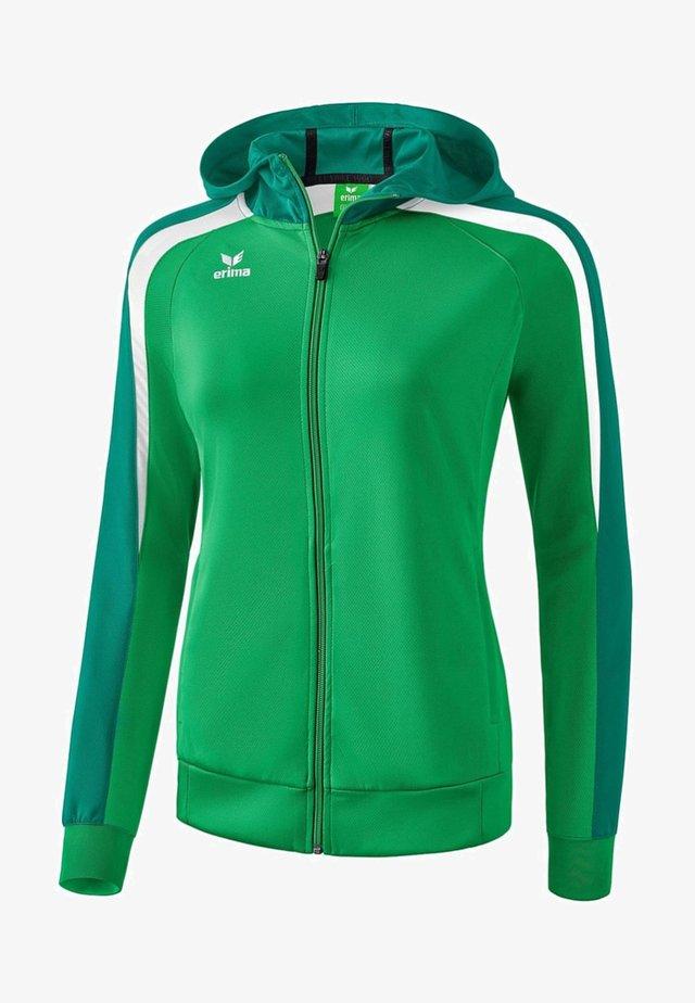 LIGA 2.0 TRAININGSKAPUZENJACKE DAMEN - Training jacket - smaragd / grün