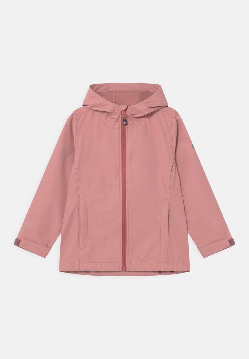 Color Kids - SOLID COL UNISEX - Softshellová bunda - ash rose