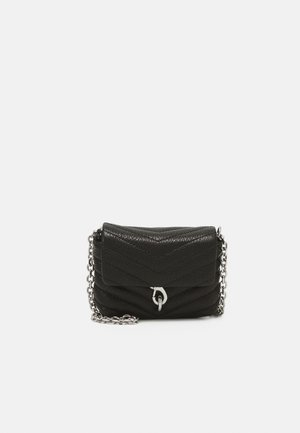 EDIE QUILTED MICRO - Pochette - black